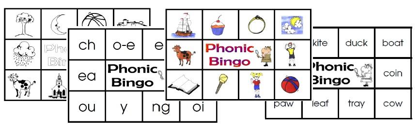 Phonic Bingo